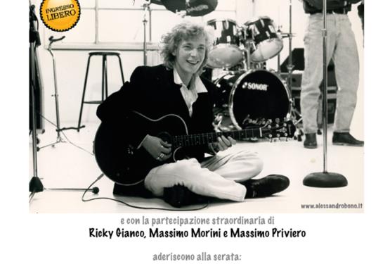 Un amico come me – Concerto Tributo ad Alessandro Bono